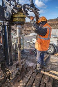 Perforadora hidraulica